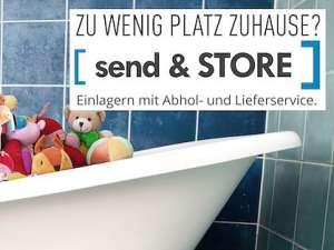 Mit Send & Store Platz schaffen
