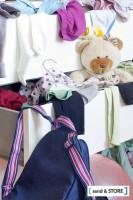 Ist die Kleiderkommode zu voll, hilft Send & Store beim Platz schaffen