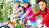 Kinder auf Fahrrad - auf die Sicherheit kommt es an