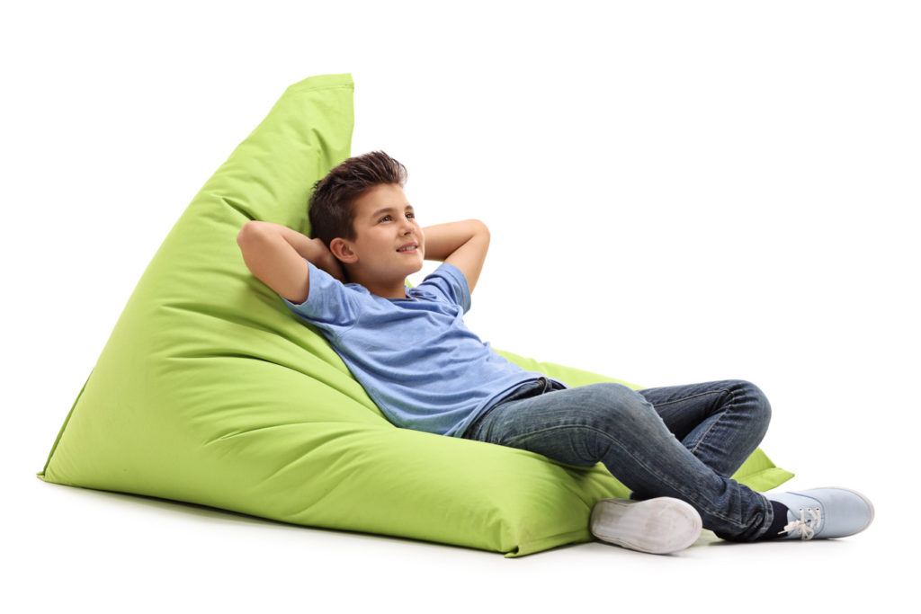 Der richtige Sitzsack für Kinder
