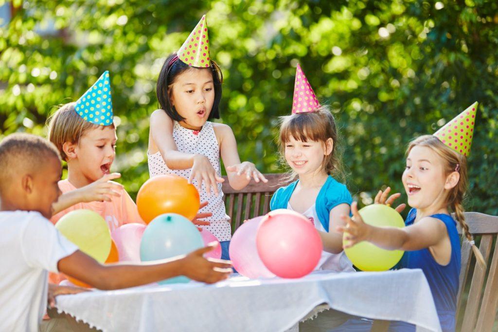 Party zum Kindergeburtstag