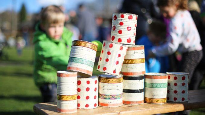 Spielwettbewerbe für den Kindergeburtstag
