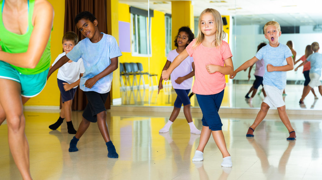 Kinder brauchen Bewegung - Tanzen ist ein gutes Mittel