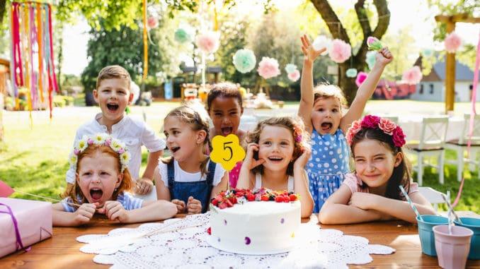 Geburtstagsfeier des eigenen Kindes