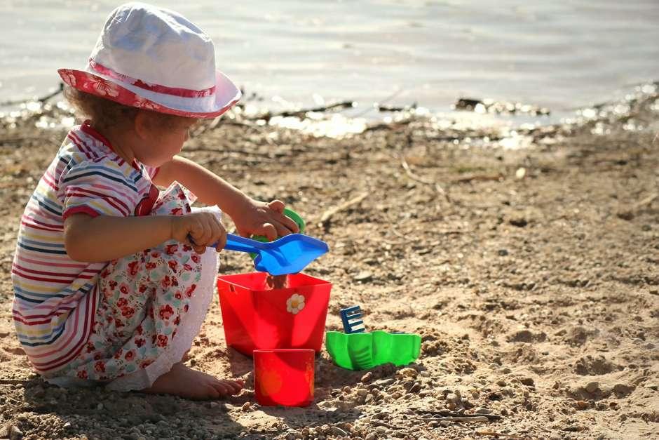 Sonnenschutz bei Kindern © Helene Souza / PIXELIO